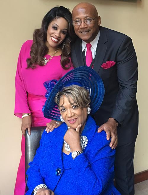 Jevonnah Ellison family